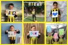 Oxford Blackbirds United under 7s has a message for the NHS