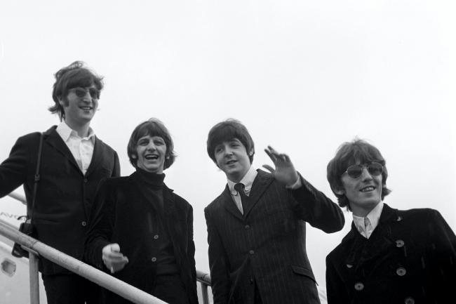 John Lennon, Ringo Starr, Paul McCartney and George Harrison pictured in 1966