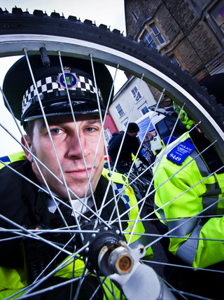 Sgt Andy Thompson is aiming to cut cycle crime in Oxford