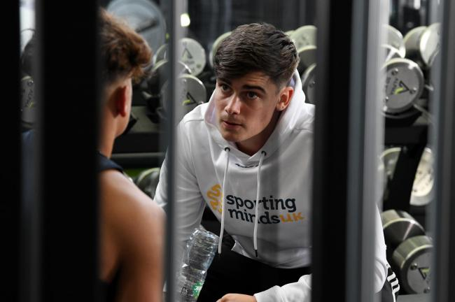 Sporting Minds UK founder Callum Lea    Picture: Jim Mayer
