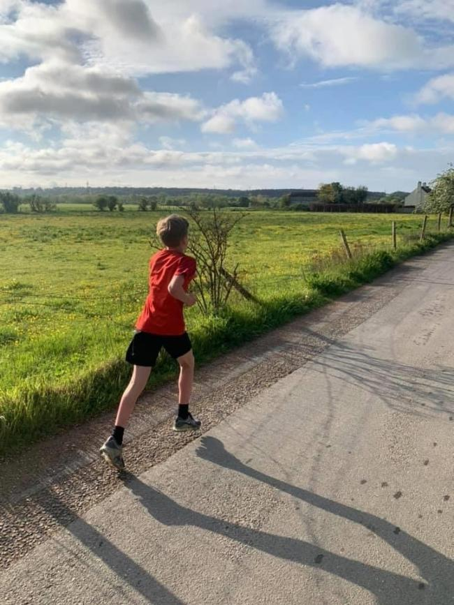 Leo Cole running 83km in seven days for Oxfordshire MIND.