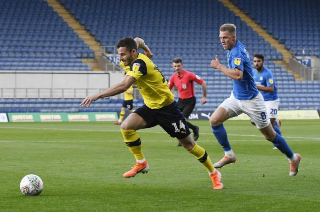Oxford United and Peterborough United are rivals for promotion from Sky Bet League One who are agreed on trying to finish the campaign  Picture: David Fleming