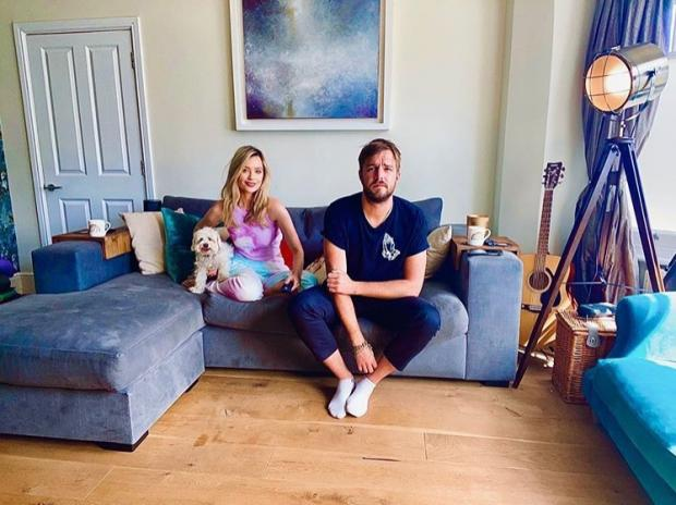 Oxford Mail: DUO: Laura Whitmore and Iain Stirling. Picture: @TheWhitmore/Instagram