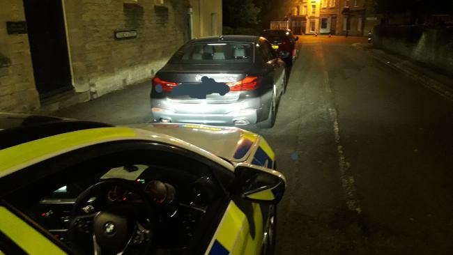 Driver caught without insurance said 'he had got a quote'