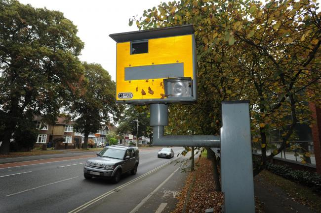 File photo of the speed camera on Botley Road, Oxford. 						           Picture: Jon Lewis
