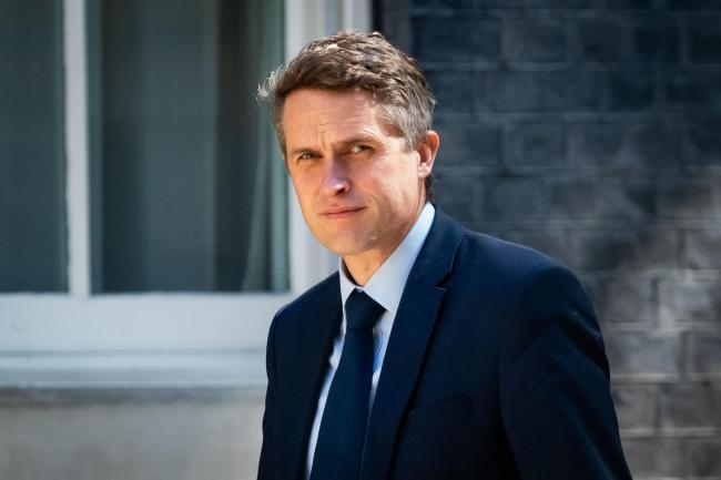 Secretary of State for Education, Gavin Williamson. Picture: Aaron Chown/PA Wire.