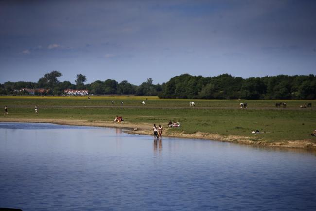 Port Meadow, Oxford. 21/05/2020.Picture by Ed Nix.