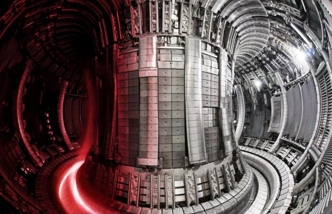 The Joint European Torus fusion device, operated at Culham by UKAEA. Credit: EUROfusion