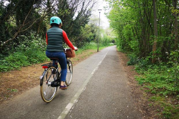 Bicester Bike Users Group. Picture: George Bennet, Chair