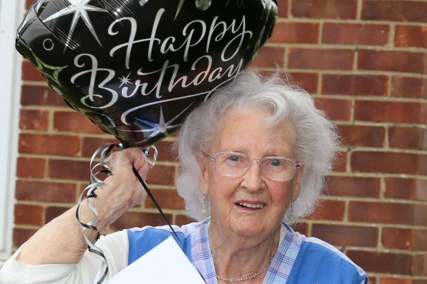Alice Whites 94th surprise birthday. Picture: Tonja Fritz-Johnson from Wallingford Portrait & Wedding.