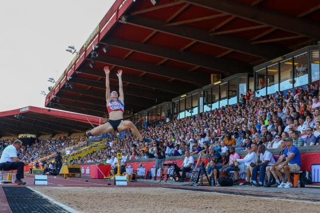 Alice Hopkins at last year's British Championships Picture: Olly Harrison