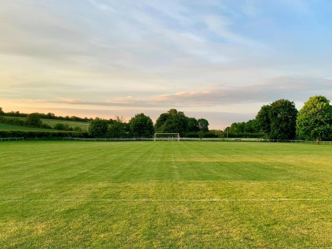 Letcombe have received a £1,500 grant for their pitch Picture: Des Williams
