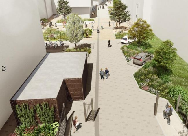 How the new works to the science area might look when complete. Picture: Oxford City Council