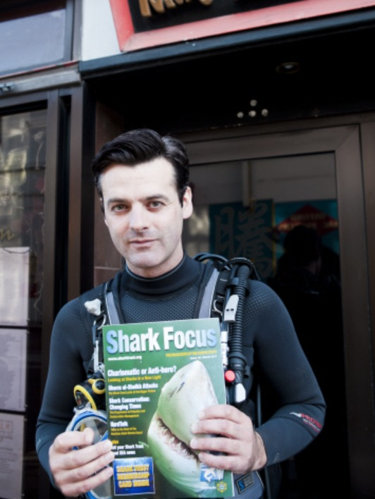 Remember When: Man protested against shark fin soup