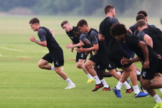 Oxford United are back in training after a negative set of coronavirus tests Picture: Ed Nix