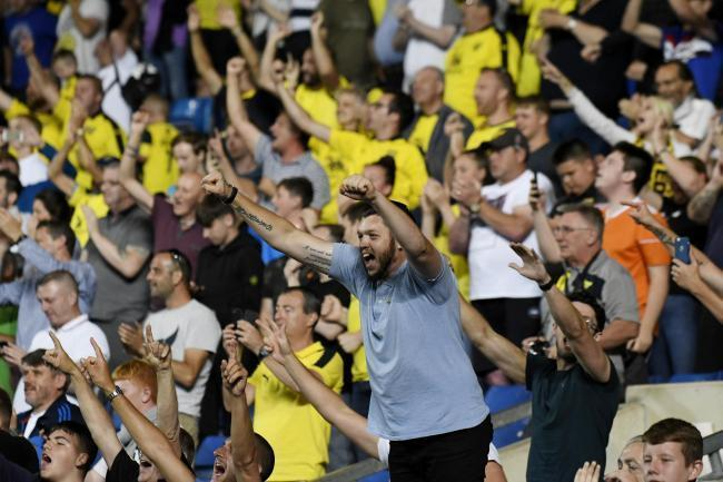 Oxford United fans can contribute to a motivational video ahead of the play-off semi-final Picture: David Fleming