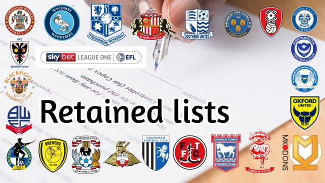 Retained lists: Details of the players released across League One