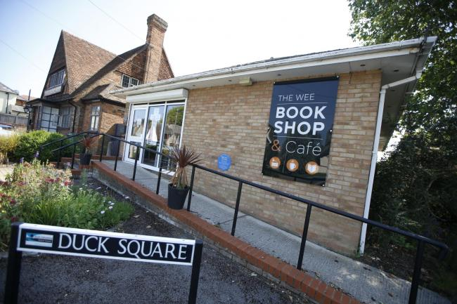 Chinnor's Wee Bookshop and Cafe set to close. Picture: Ed nix