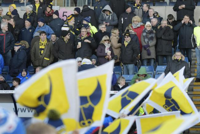 Oxford United fans are unable to attend the crucial play-off games in person   Picture: David Fleming