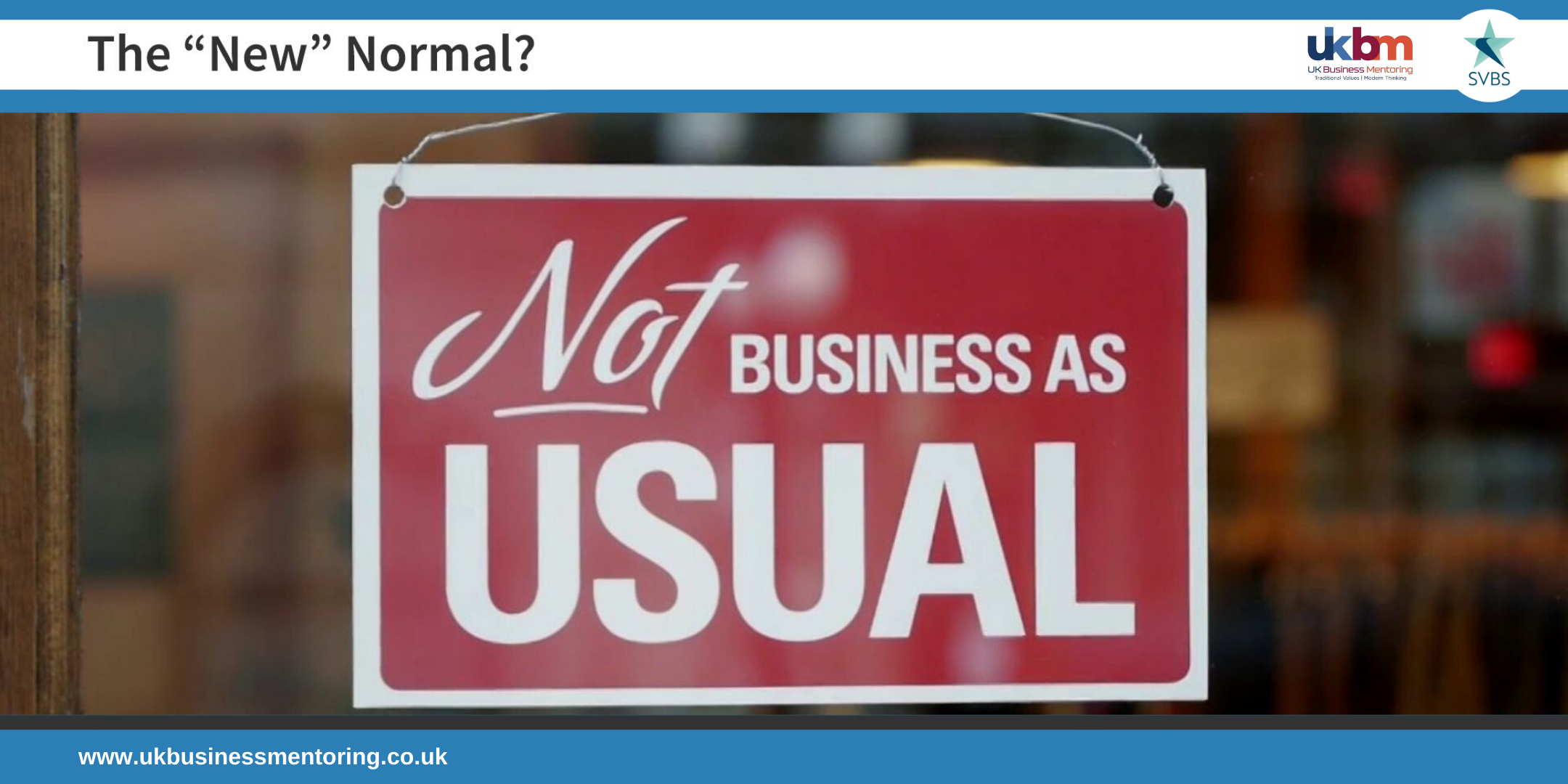 As businesses start to re-open, what will the 'New Normal' be?