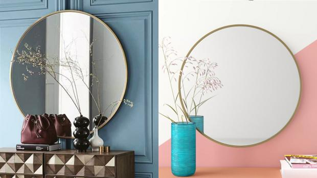 Oxford Mail: A bigger, more modern mirror will create the illusion of more space. Credit: Wayfair