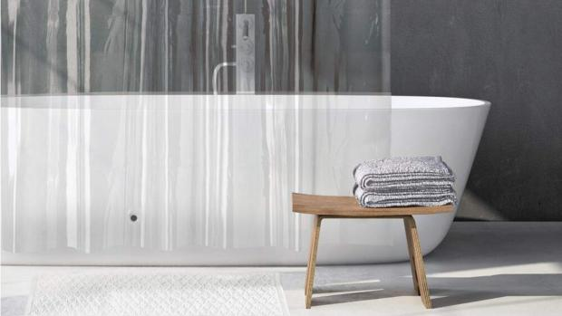 Oxford Mail: A clean shower liner will make your bathroom much more welcoming. Credit: Amazon