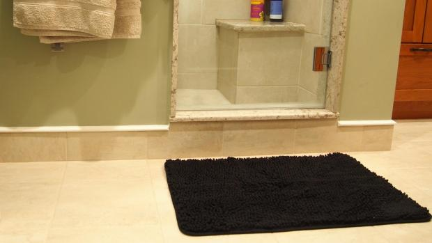 Oxford Mail: A stylish bath mat can brighten up your space. Credit: Reviewed / Kori Perten