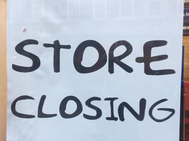 File pic of store closing