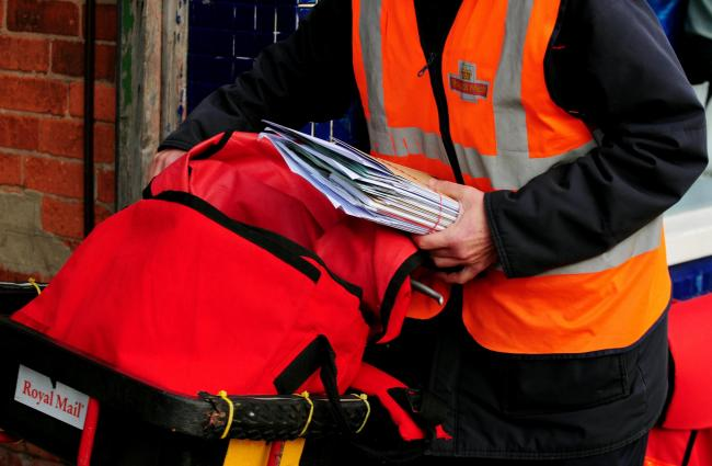 Residents are being warned about a scam email appearing to be from Royal Mail. Picture: Rui Vieira/ PA Wire