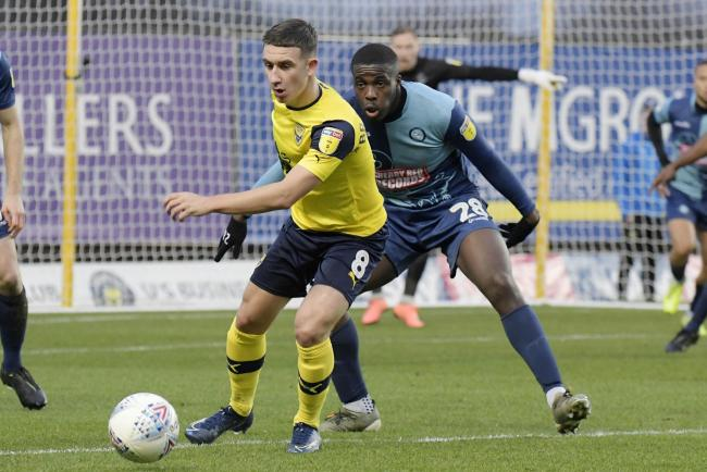 Oxford United beat Wycombe Wanderers 1-0 in the only meeting between the sides this season   Picture: David Fleming