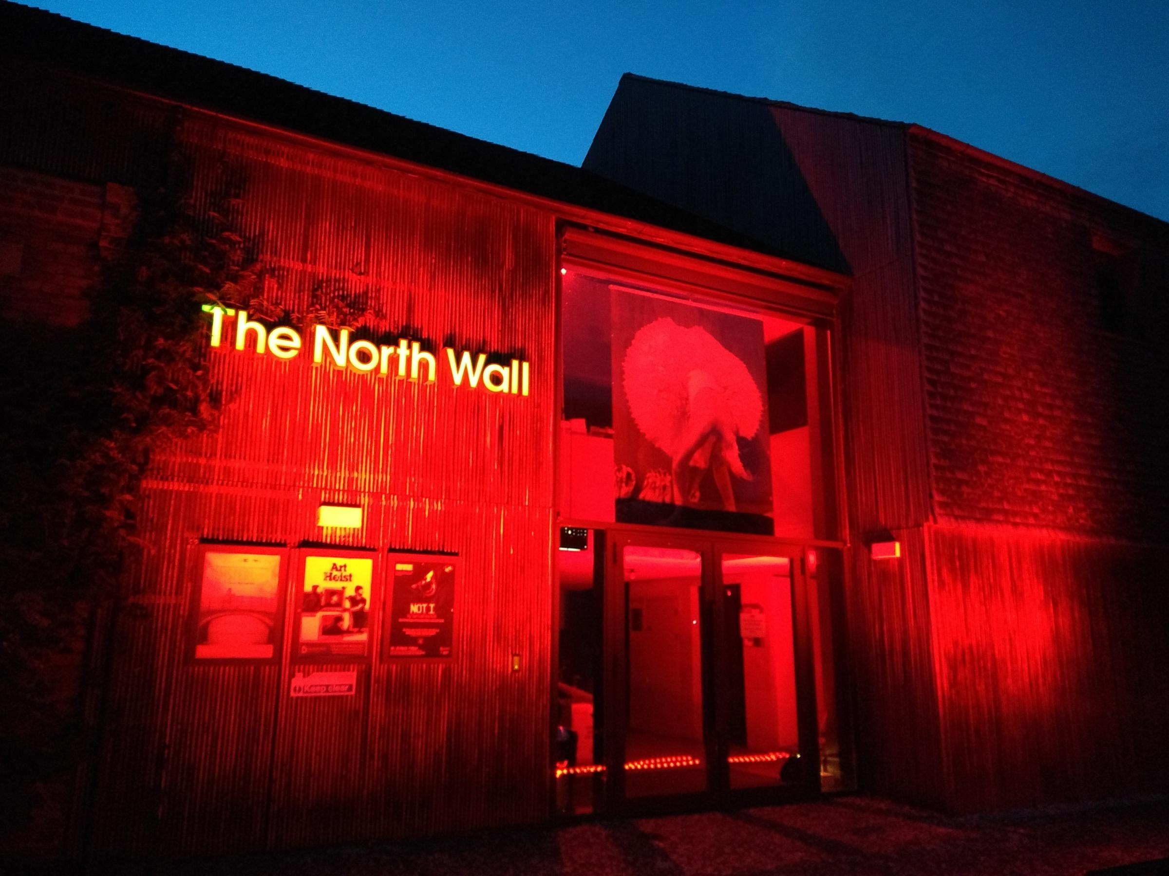 Oxfordshire theatres, such as The North Wall, lit up their buildings with red light last July to highlight the financial emergency in the sector. Many will do the same tonight