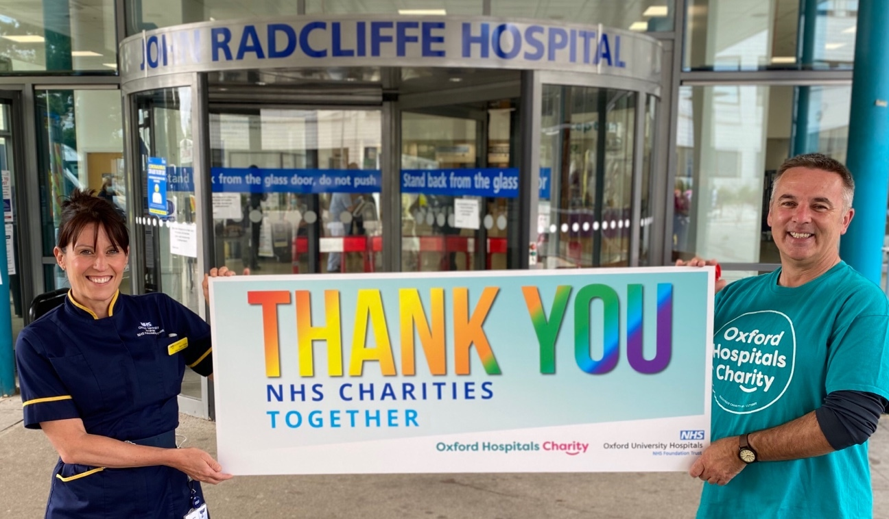 Oxford hospitals get £120K from Captain Tom fundraiser
