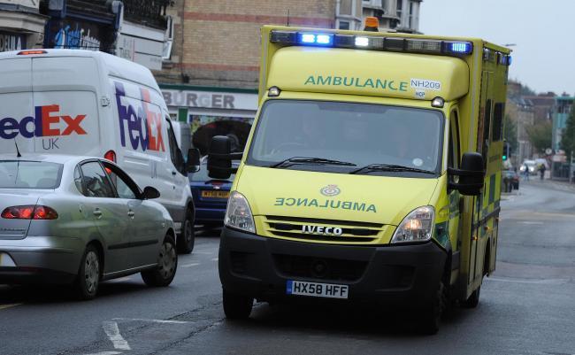 SCAS ambulance. /p pPicture: Jon Lewis