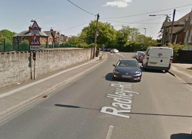 Radley Road, where Our Lady's is located. Picture: Google Maps