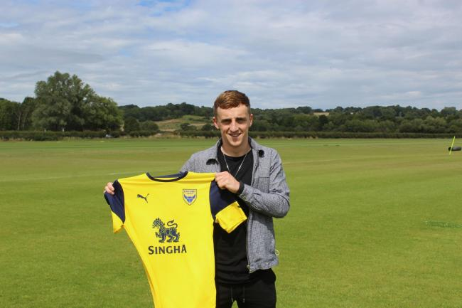 Oxford United's new winger Joel Cooper Picture: Oxford United