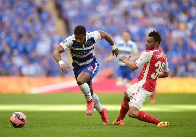 Reading's Garath McCleary in action against Arsenal in 2015    Picture: Adam Davy/PA Wire