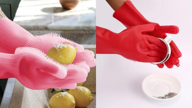 Oxford Mail: Gloves and sponges in one? Yes, please. Credit: Forliver