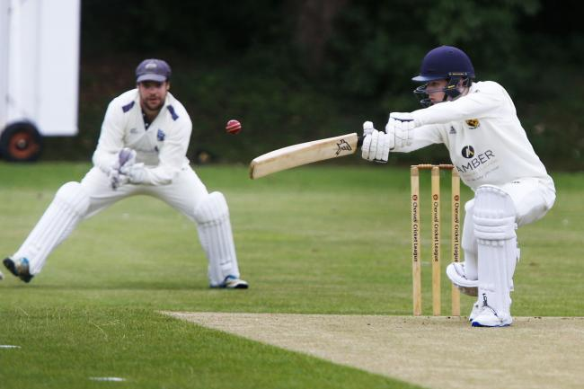 Alex Hodder-Williams was in the Cumnor side which beat Oxford Downs by 78 runs to reach the second round    Picture: Ed Nix