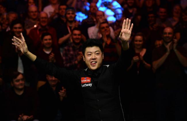 Liang Wenbo  Picture: Anna Gowthorpe/PA Wire