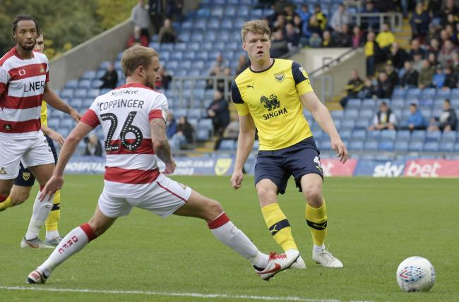 Rob Dickie made 49 appearances for Oxford United last season  Picture: David Fleming