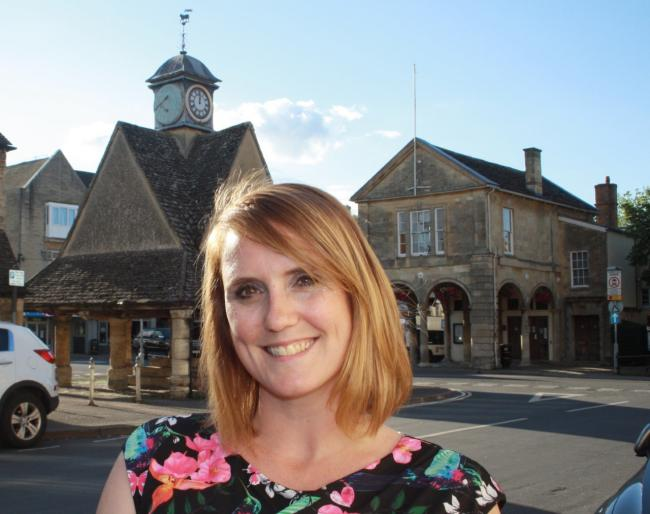 Witney town council leader Luci Ashbourne. Picture: Owen Collins