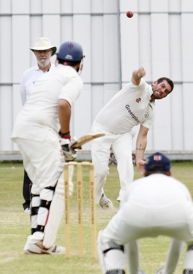 Ryan Chapman was part of the successful Tiddington attack against Cumnor   Picture: David Fleming