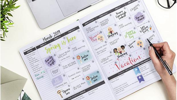Oxford Mail: Stay organised with this planner. Credit: Clever Fox