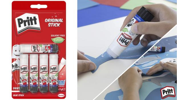 Oxford Mail: Don't worry. These glue sticks are washable. Credit: Pritt