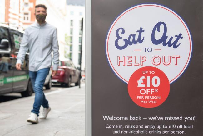 Eat Out to Help Out: Can you get 50 per cent off takeaways with the scheme? Picture: PA Wire