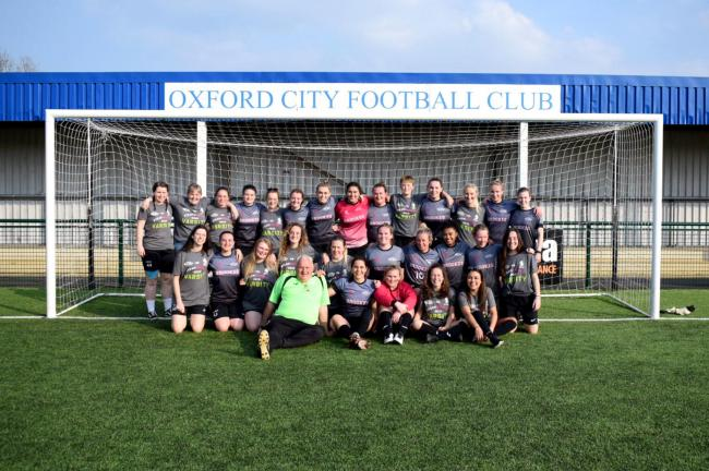 Oxford Brookes University's women's team Picture: Fortitude Communications