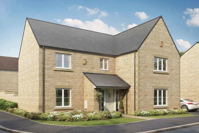Work is underway to construct 160 new homes in Bampton. Picture: Taylor Wimpey