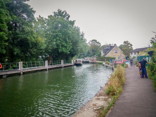 Osney Lock, Oxford. Picture: Pete Hughes