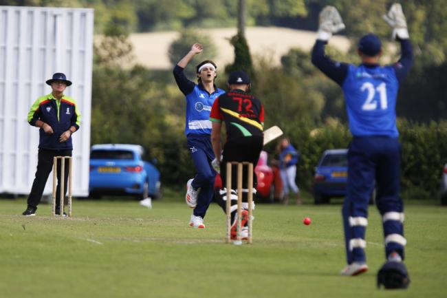 Aston Rowant's Alex Chapman appeals for a wicket in the defeat to Datchet   Picture: Ed Nix
