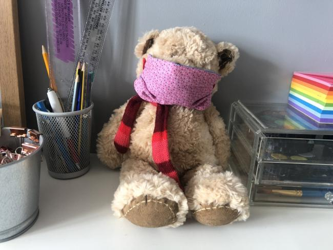 Rosie the Covid Bear. Picture: Oxfordshire County Council